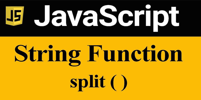 javascript split function